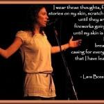 lara tbt poetry